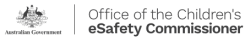 Office or the Children's eSafety Commissioner